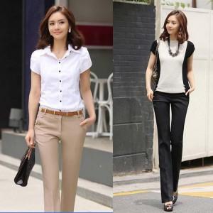 Good-Quality-Office-Lady-Fashion-Long-Suit-Pants-Size-S-2XL-Khaki-Black-Street-Style-Women
